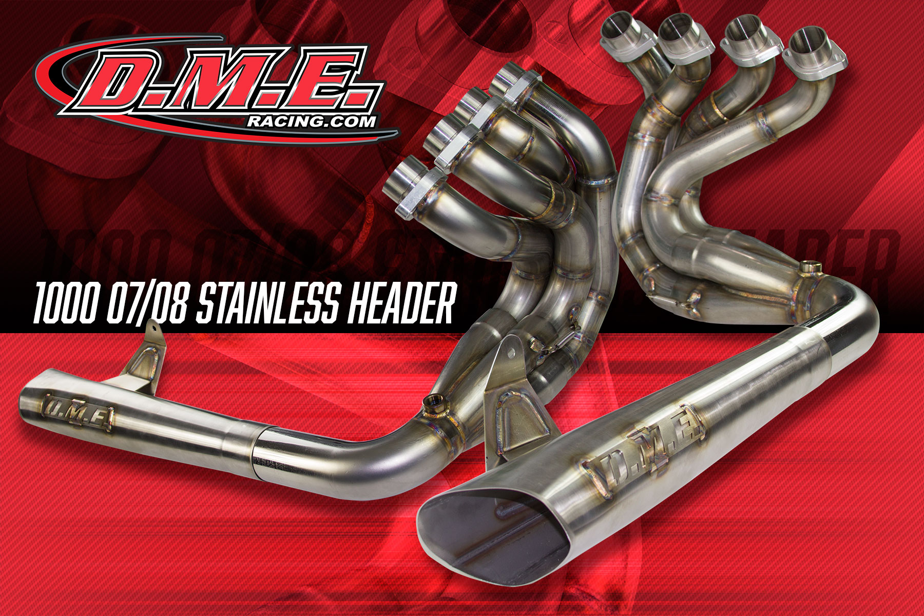 DME Exhaust Headers – Stainless Steel