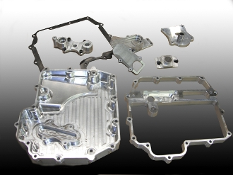 Kawasaki ZX-10 2011+ up Billet Oil Pan Set