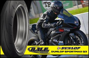 Dunlop Sportmax Q3 Tire - 120/60ZR17