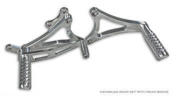 Hayabusa Rear Sets
