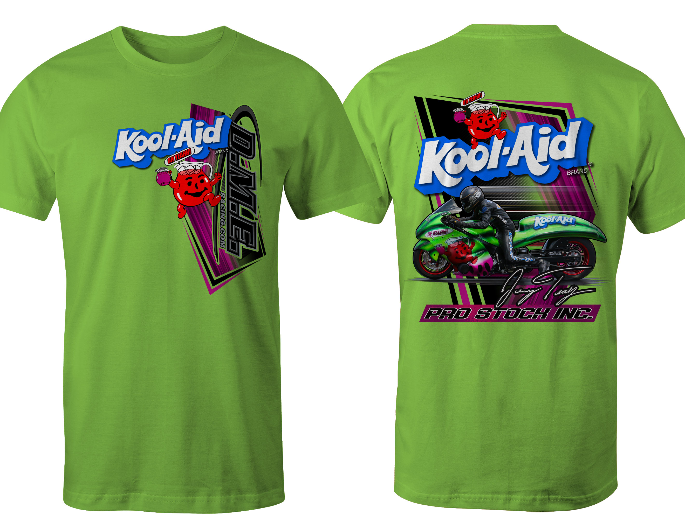 Kool-Aid Grudge Bike T-Shirt