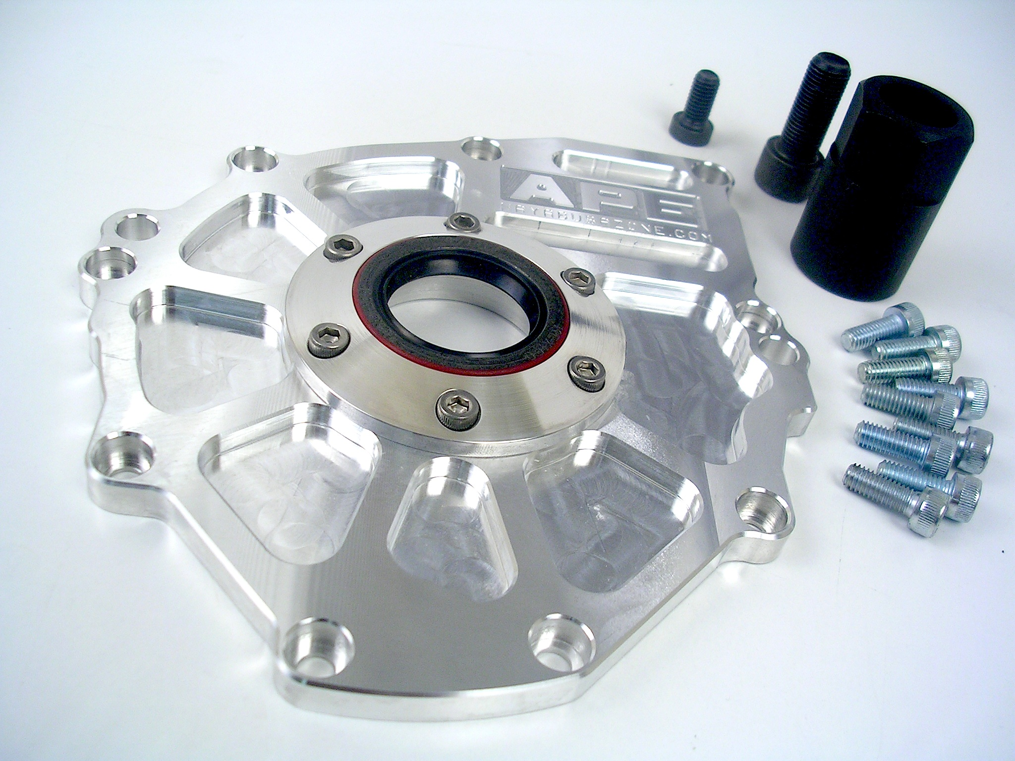 APE Billet Starter Plate - Suzuki Hayabusa