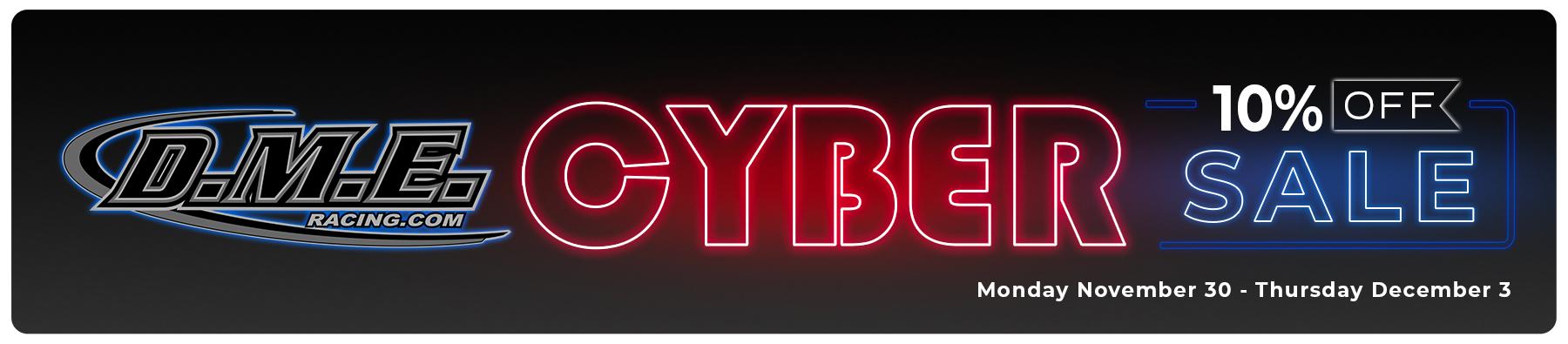 DME Racing Cyber Sale
