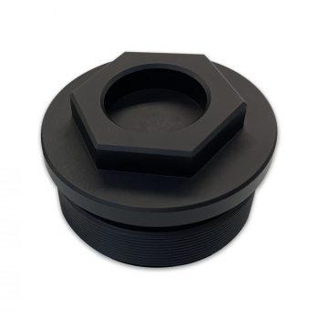 DME Racing Billet Fork Caps - Black