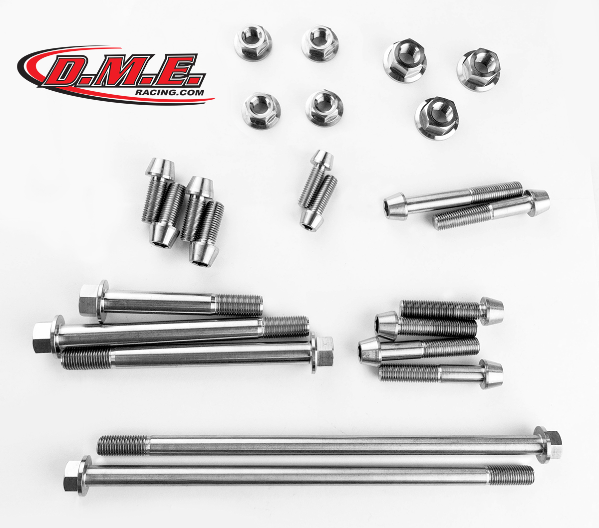 Titanium Bolt Kit - GSX-R1000 Frame and Suspension Kit