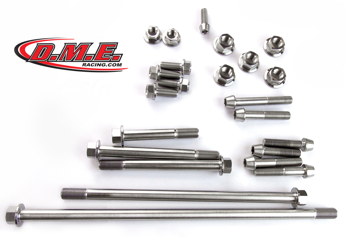Titanium Bolt Kit - Hayabusa Frame and Suspension Kit