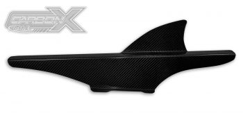 DME Chain Guard for Tire Hugger Carbon Fiber