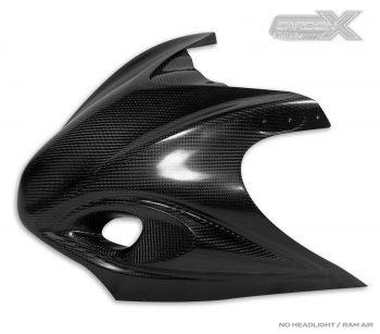 Suzuki Hayabusa Front Nose Fairing | Carbon Fiber