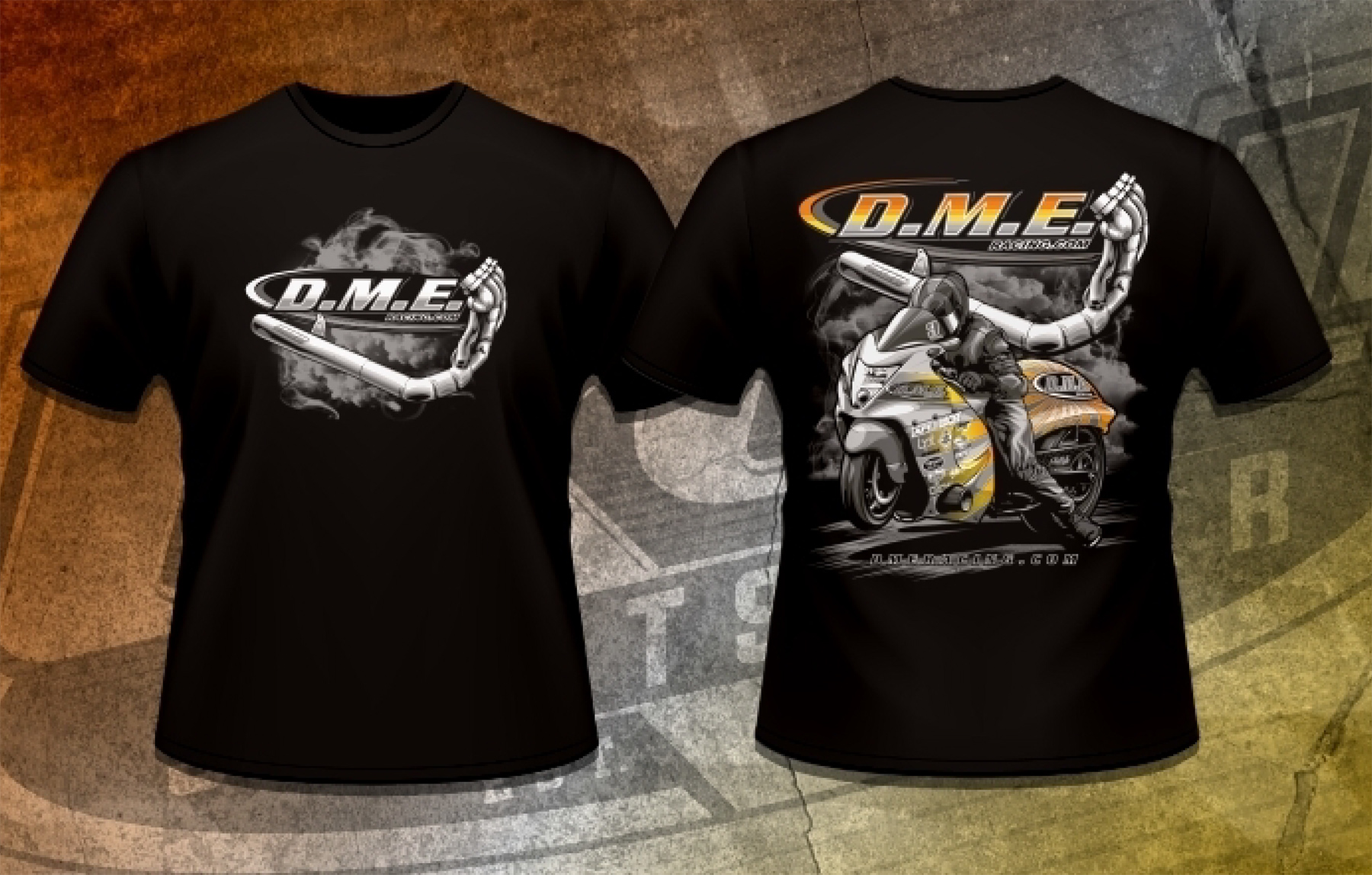DME Racing Exhaust T-Shirt